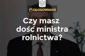 Poselski wniosek o wyrażenie wotum nieufności wobec Ministra Rolnictwa i Rozwoju Wsi Jana Krzysztofa Ardanowskiego